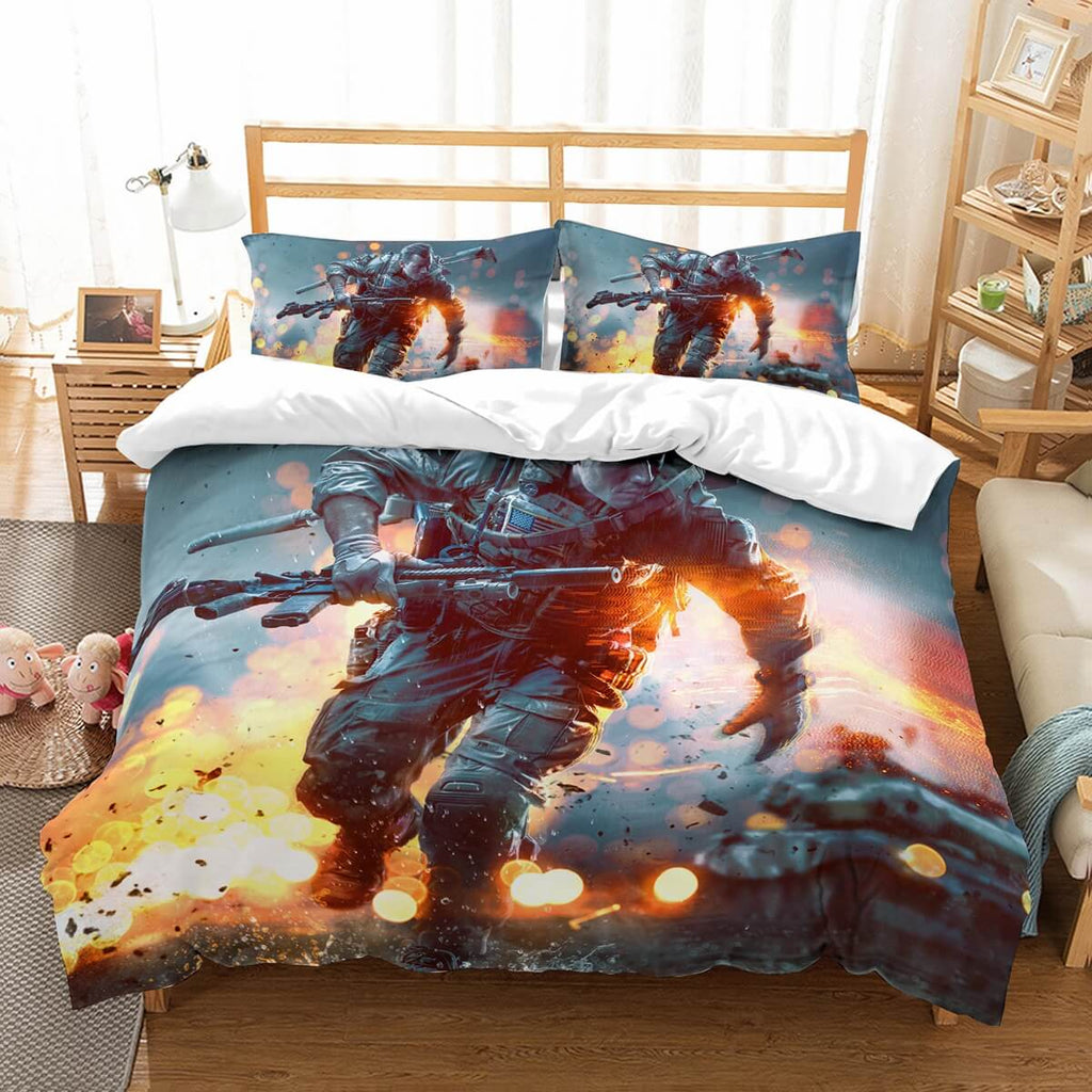 3D Customize Battlefield 1 Bedding Set Duvet Cover Set Bedroom Set Bedlinen