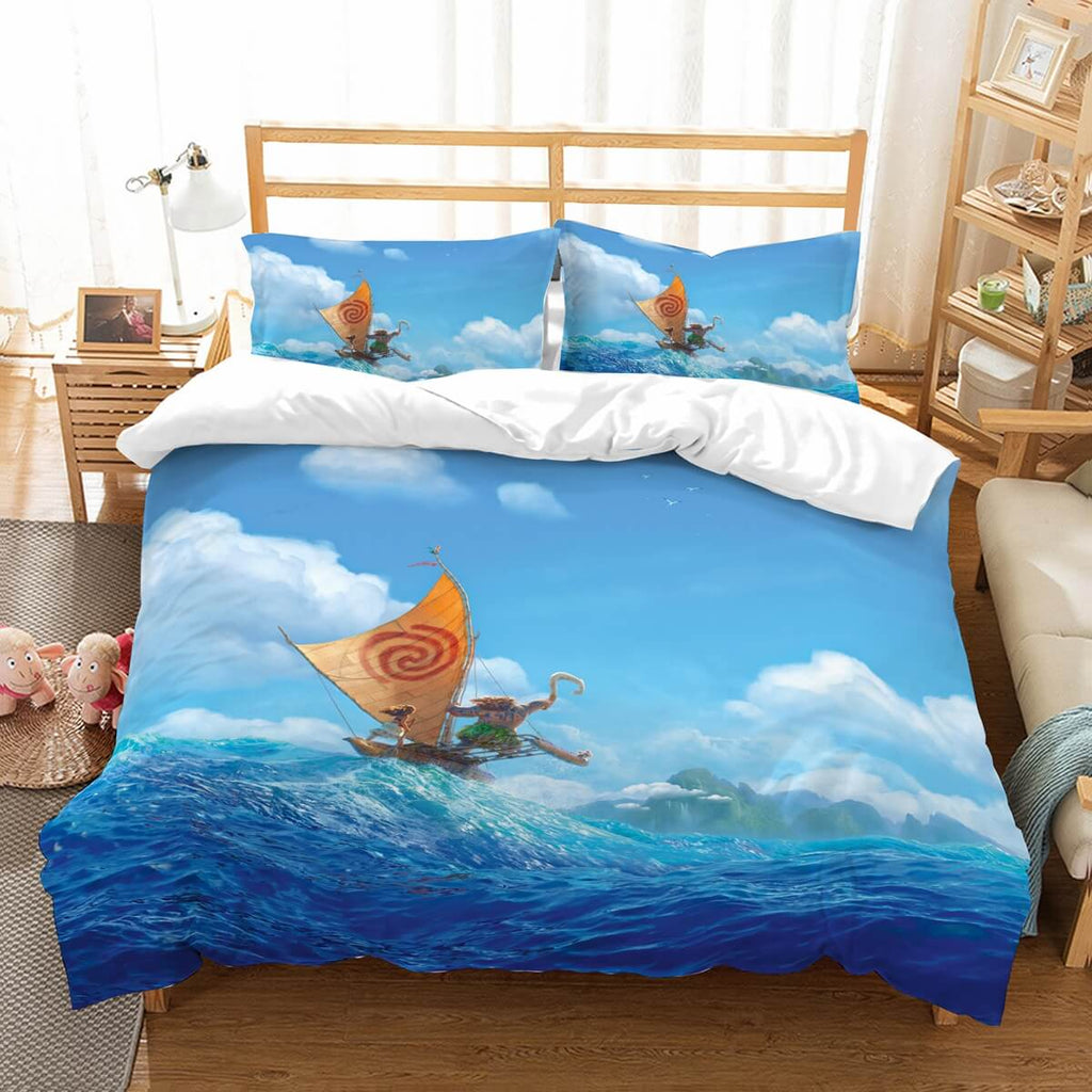 3D Customize Moana Bedding Set Duvet Cover Set Bedroom Set Bedlinen