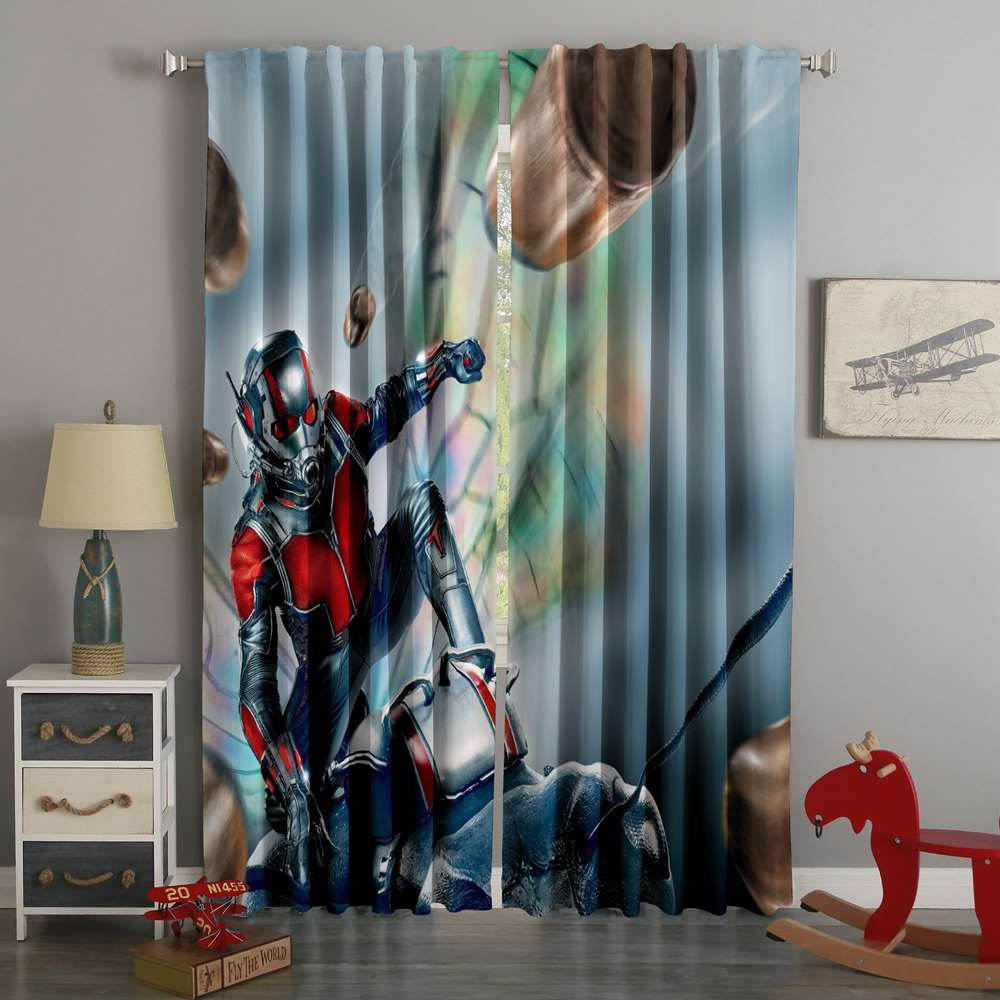 3D Printed Ant-Man Style Custom Living Room Curtains