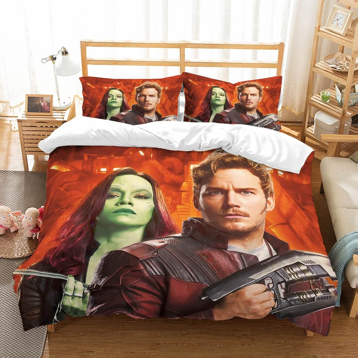 3D Customize Guardians Of The Galaxy Bedding Set Duvet Cover Set Bedroom Set Bedlinen