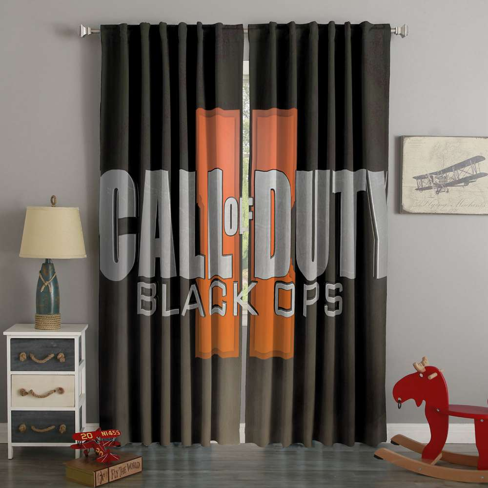 3D Printed Call Of Duty Custom Living Room Curtains