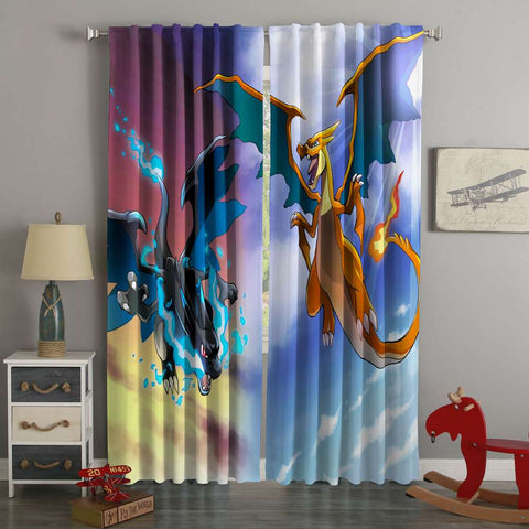 3D Printed Pokemon Go Style Custom Living Room Curtains