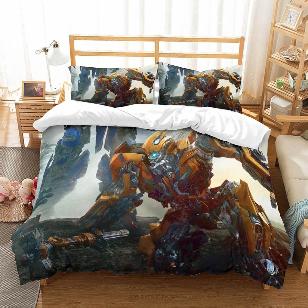 3D Customize  Transformers The Last Knight Bedding Set Duvet Cover Set Bedroom Set Bedlinen