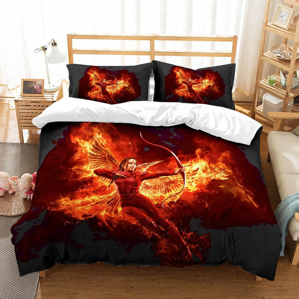 3D Customize The Hunger Games Bedding Set Duvet Cover Set Bedroom Set Bedlinen