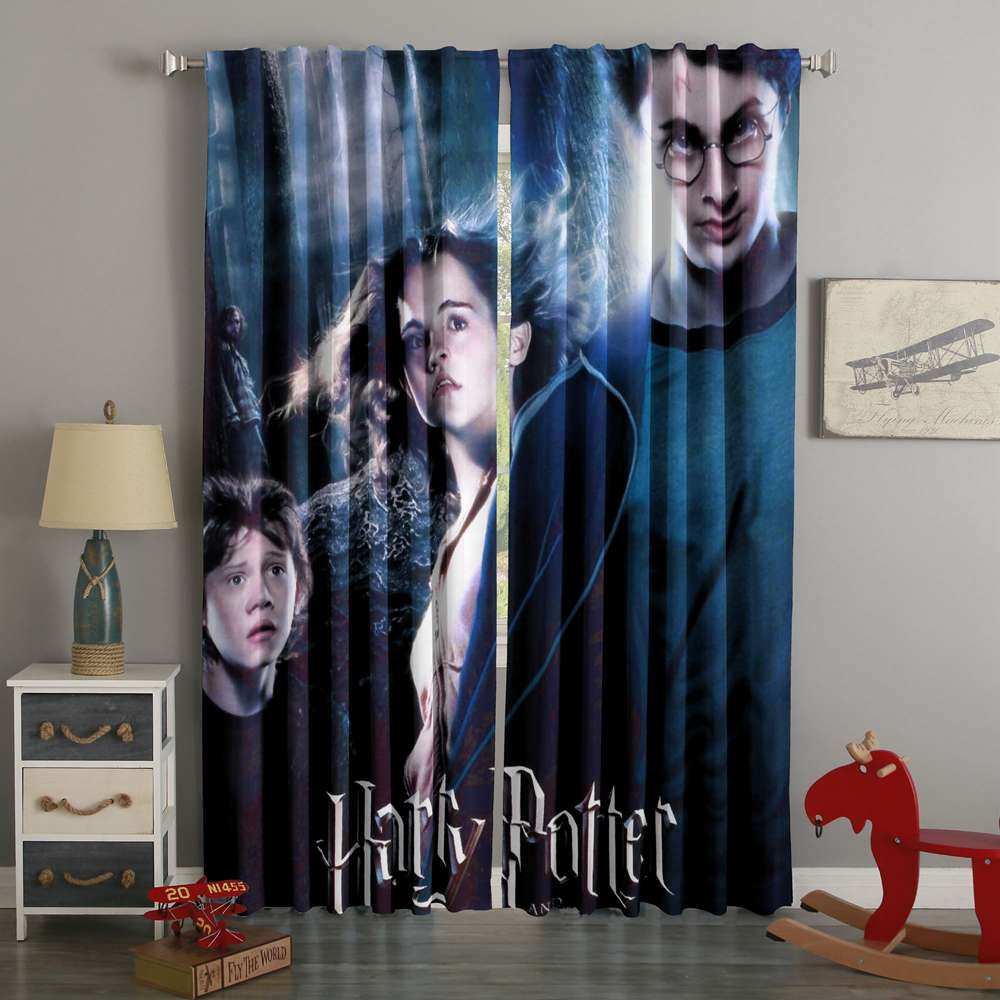 3D Printed Harry Potter Style Custom Living Room Curtains