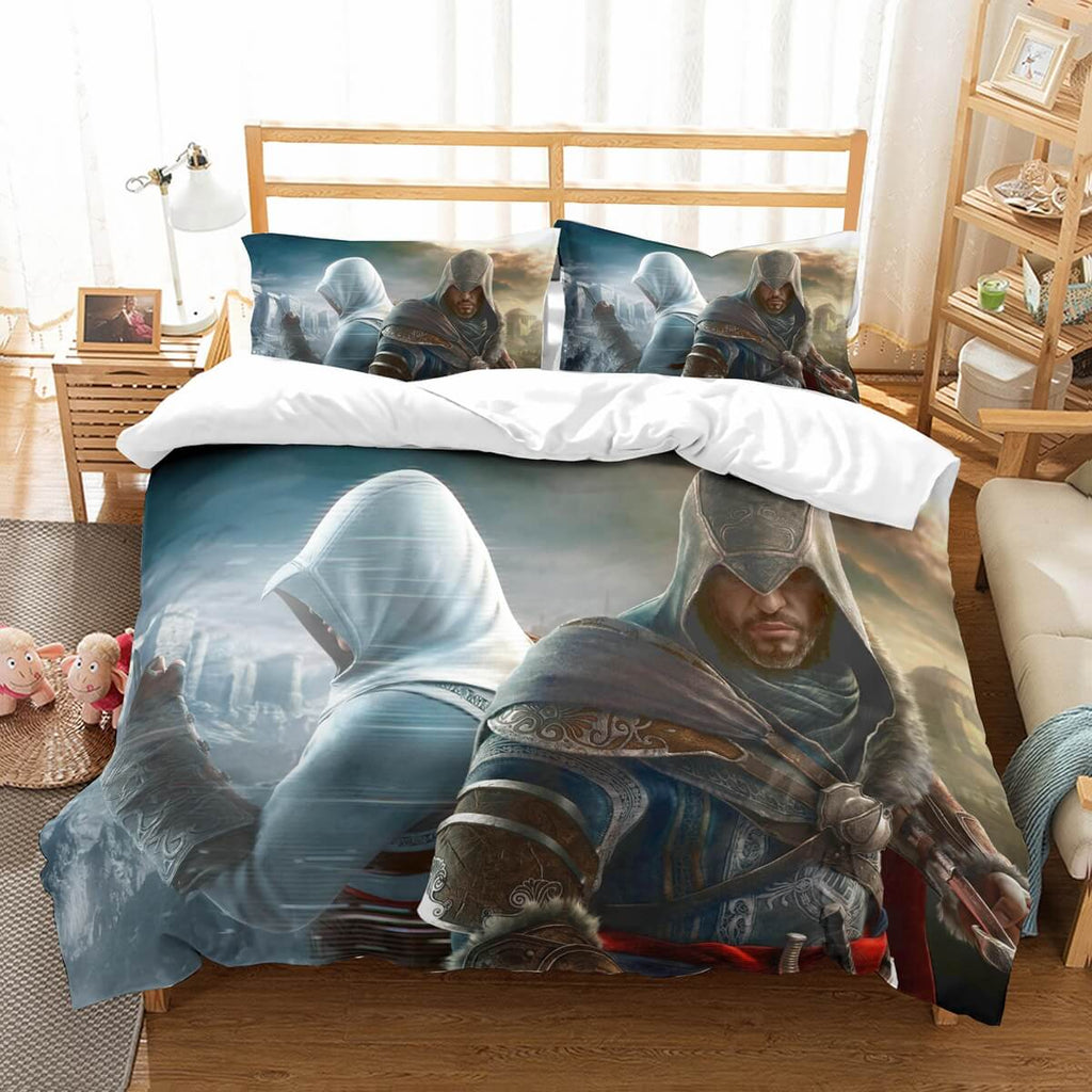 3D Customize Assassins Creed Bedding Set Duvet Cover Set Bedroom Set Bedlinen