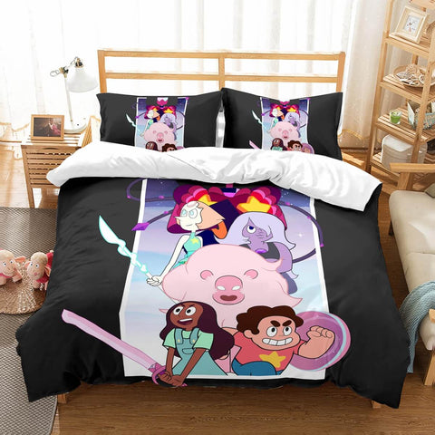 3D Customize Steven Universe Bedding Set Duvet Cover Set Bedroom Set Bedlinen