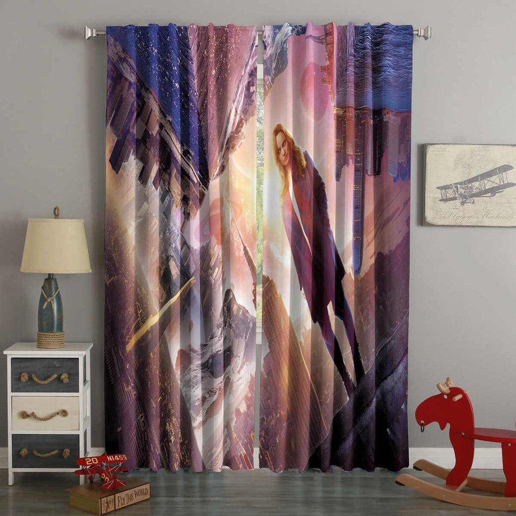 3D Printed Doctor Strange Style Custom Living Room Curtains