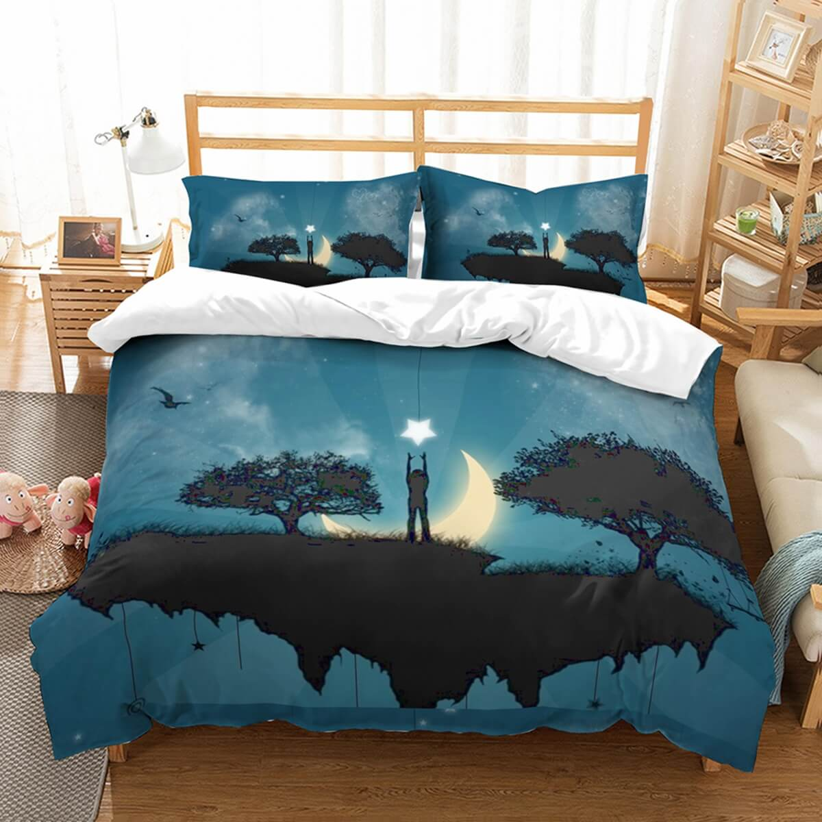 3D Customize Star Island Bedding Set Duvet Cover Set Bedroom Set Bedlinen