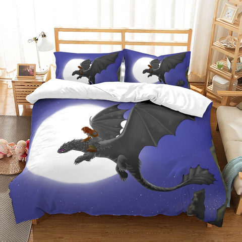 3D Customize  DreamWorks Dragons Bedding Set Duvet Cover Set Bedroom Set Bedlinen
