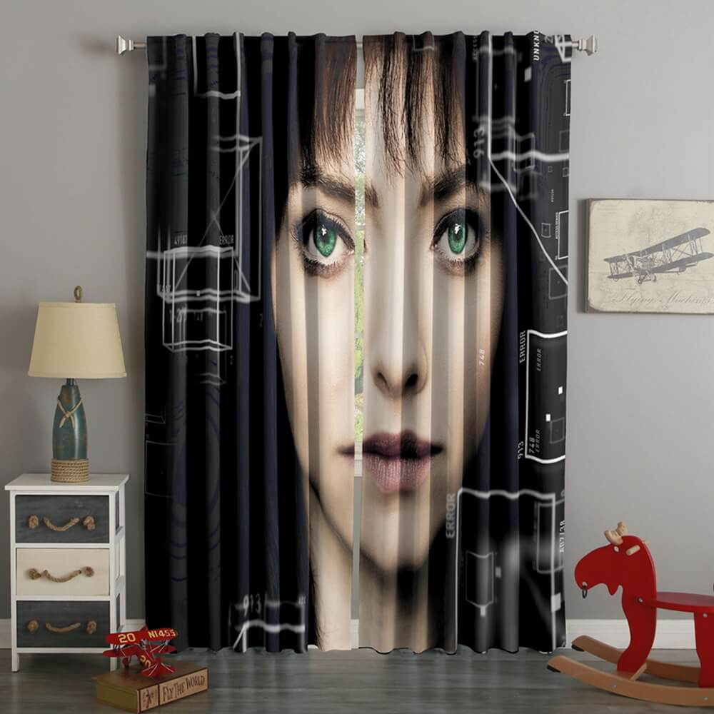 3D Printed Anon Style Custom Living Room Curtains
