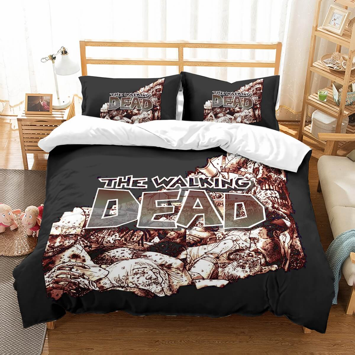 3D Customize Walking Dead Bedding Set Duvet Cover Set Bedroom Set Bedlinen