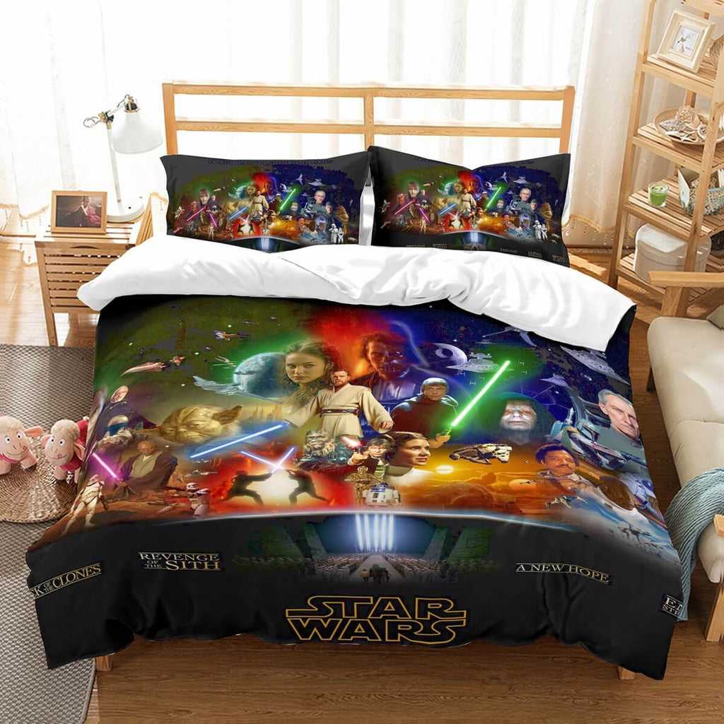 3D Customize Star Wars Bedding Set Duvet Cover Set Bedroom Set Bedlinen