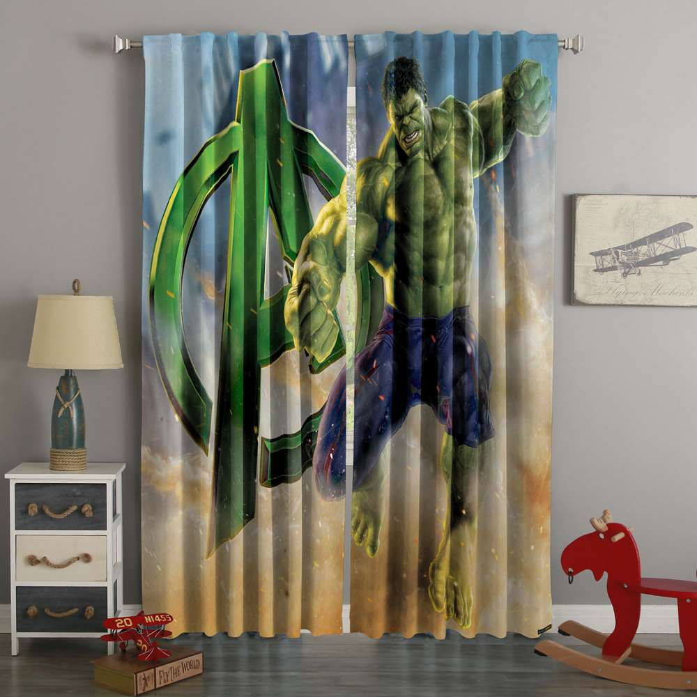 3D Printed Hulk Style Custom Living Room Curtains