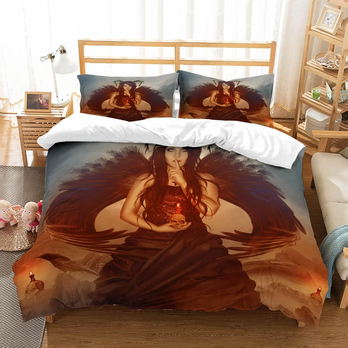 3D Customize Fantasy Bedding Set Duvet Cover Set Bedroom Set Bedlinen