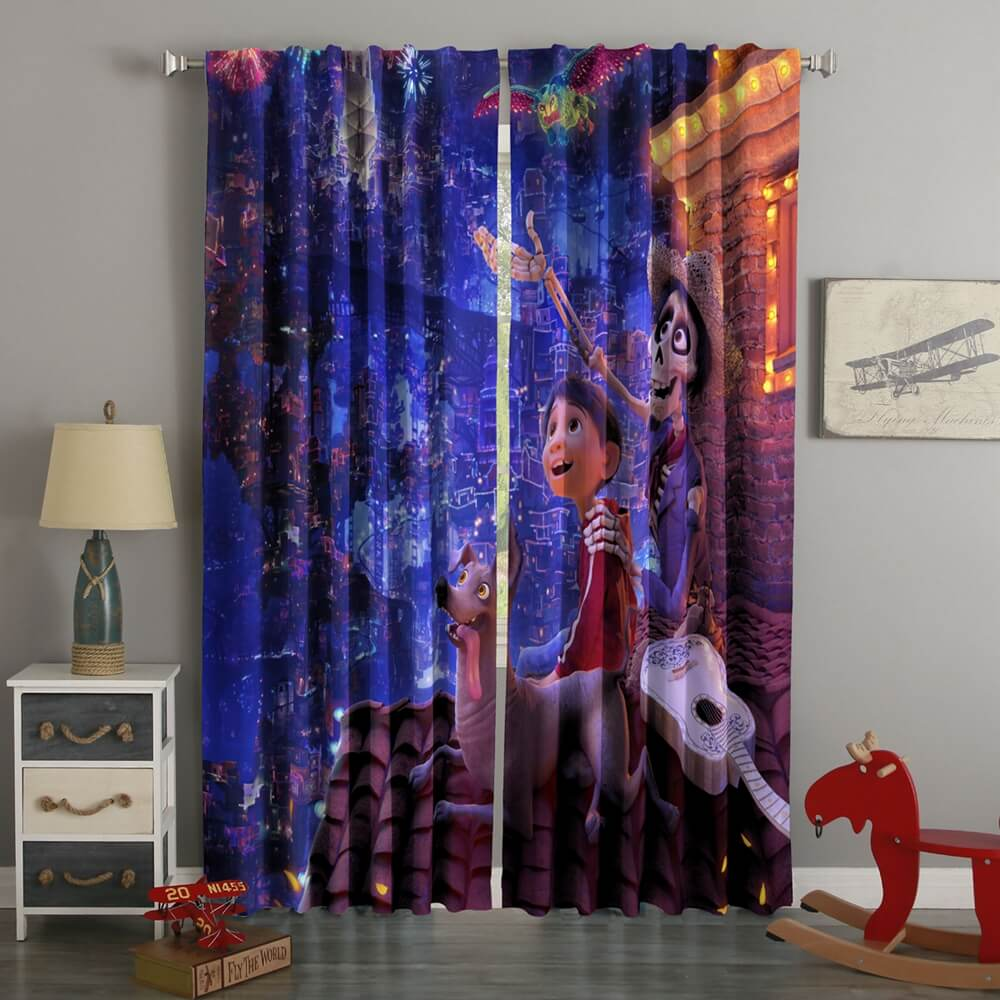 3D Printed Coco Style Custom Living Room Curtains