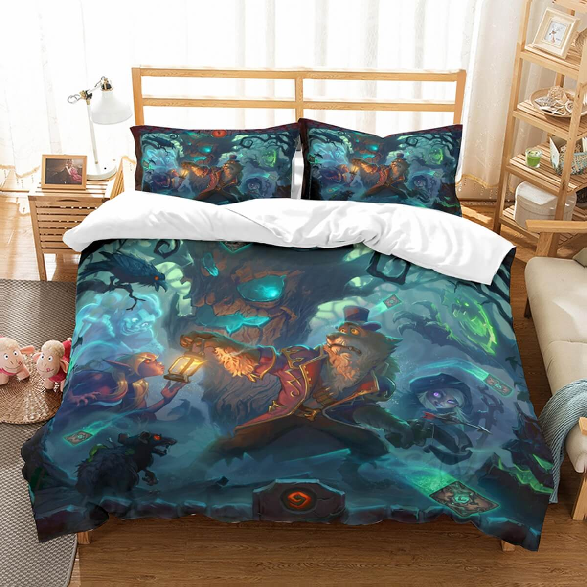 3D Customize Hearthstone The Witchwood Bedding Set Duvet Cover Set Bedroom Set Bedlinen