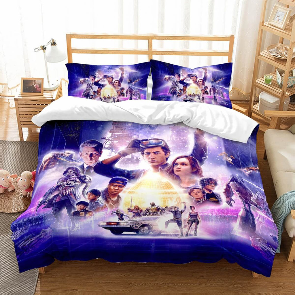 3D Customize  Ready Player One Bedding Set Duvet Cover Set Bedroom Set Bedlinen