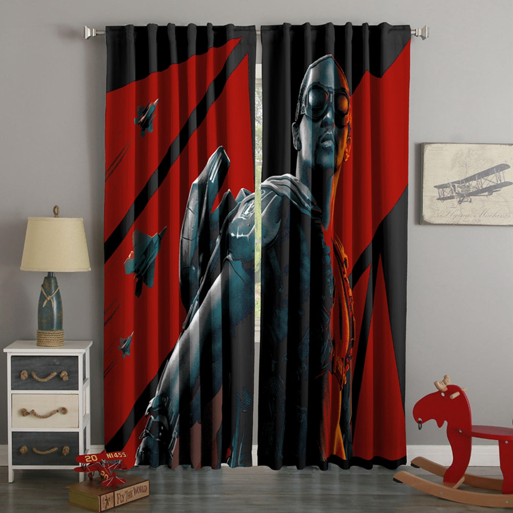 3D Printed Falcon Style Custom Living Room Curtains