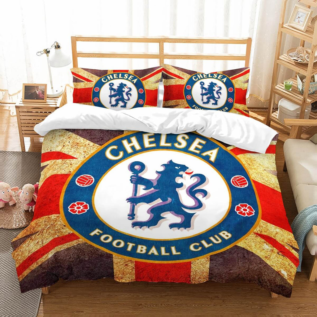 3D Customize Chelsea F.C. Bedding Set Duvet Cover Set Bedroom Set Bedlinen