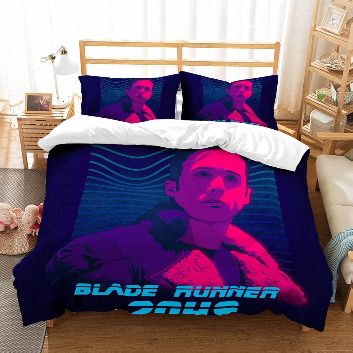 3D Customize Blade Runner 2049 Bedding Set Duvet Cover Set Bedroom Set Bedlinen