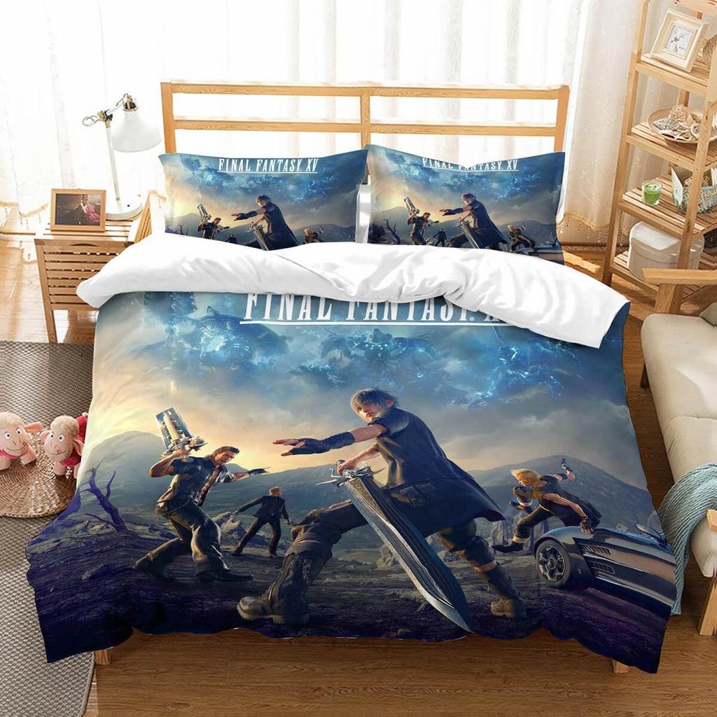 3D Customize Final Fantasy XV Bedding Set Duvet Cover Set Bedroom Set Bedlinen
