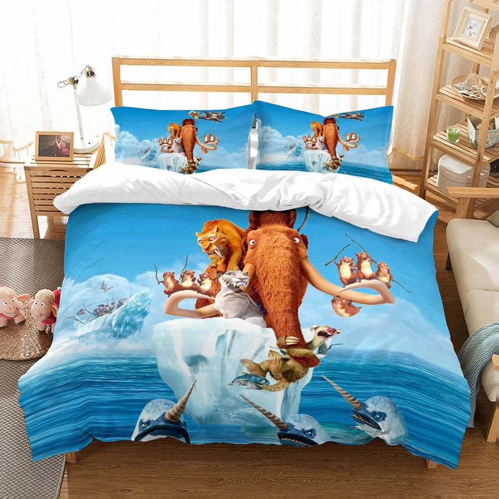3D Customize Ice Age Bedding Set Duvet Cover Set Bedroom Set Bedlinen