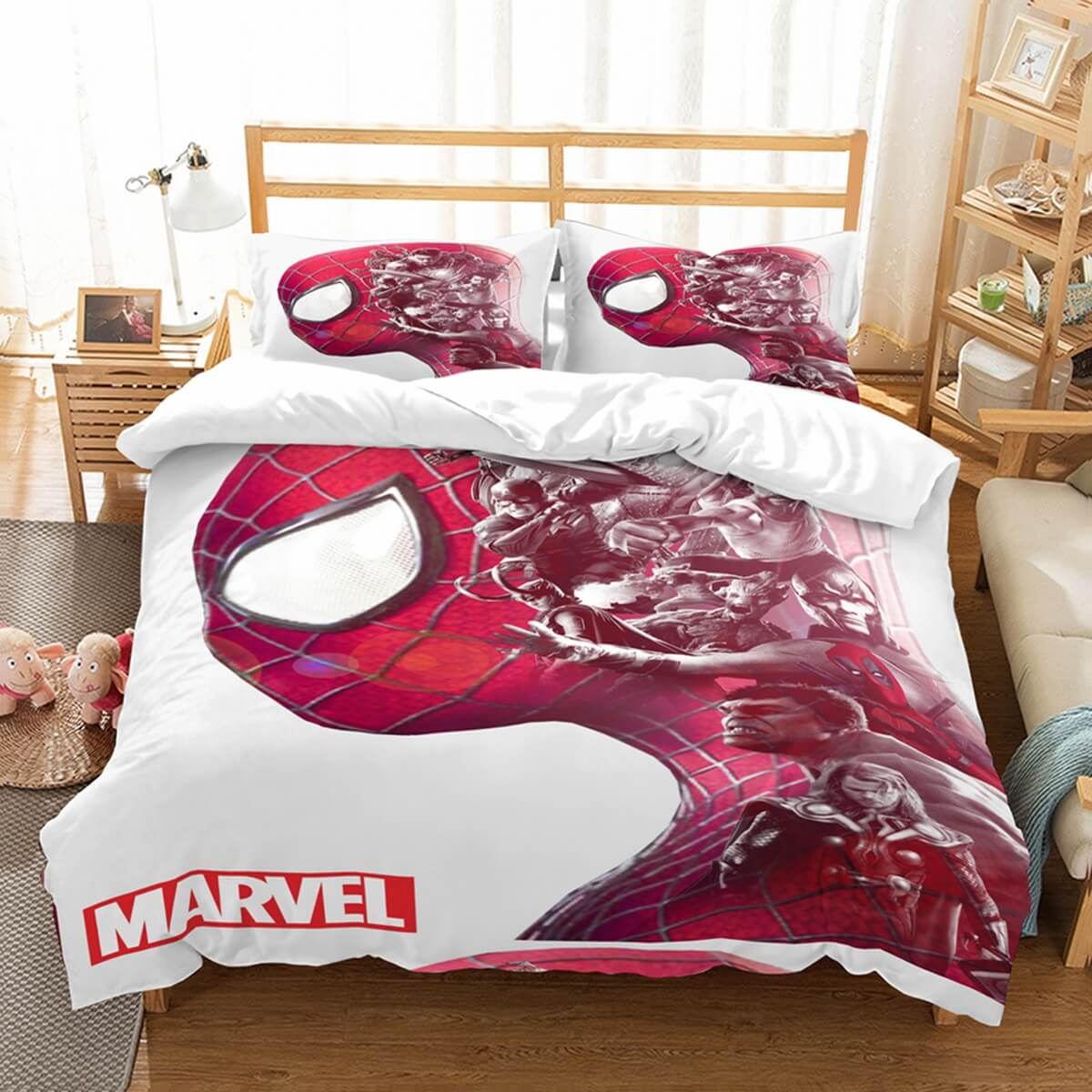 3D Customize Marvel Comics Bedding Set Duvet Cover Set Bedroom Set Bedlinen