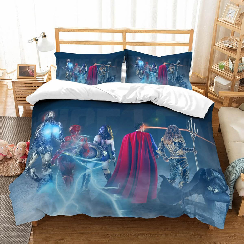 3D Customize Justice League Bedding Set Duvet Cover Set Bedroom Set Bedlinen