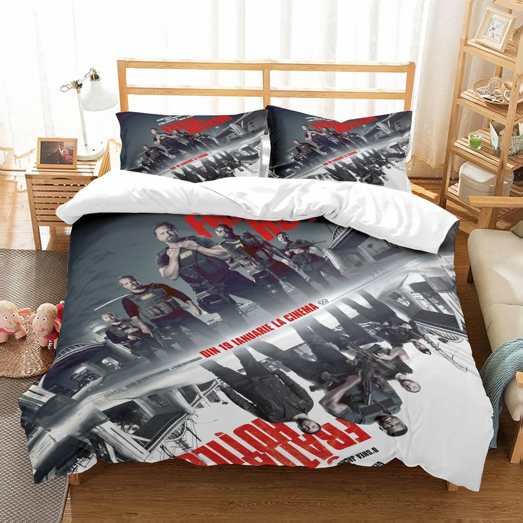 3D Customize Den Of Thieves Bedding Set Duvet Cover Set Bedroom Set Bedlinen