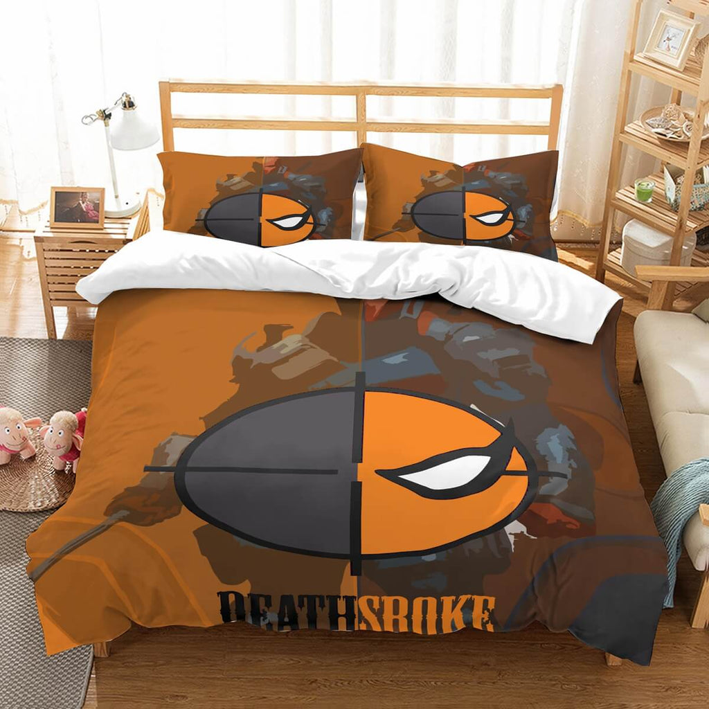 3D Customize Deathstroke Bedding Set Duvet Cover Set Bedroom Set Bedlinen