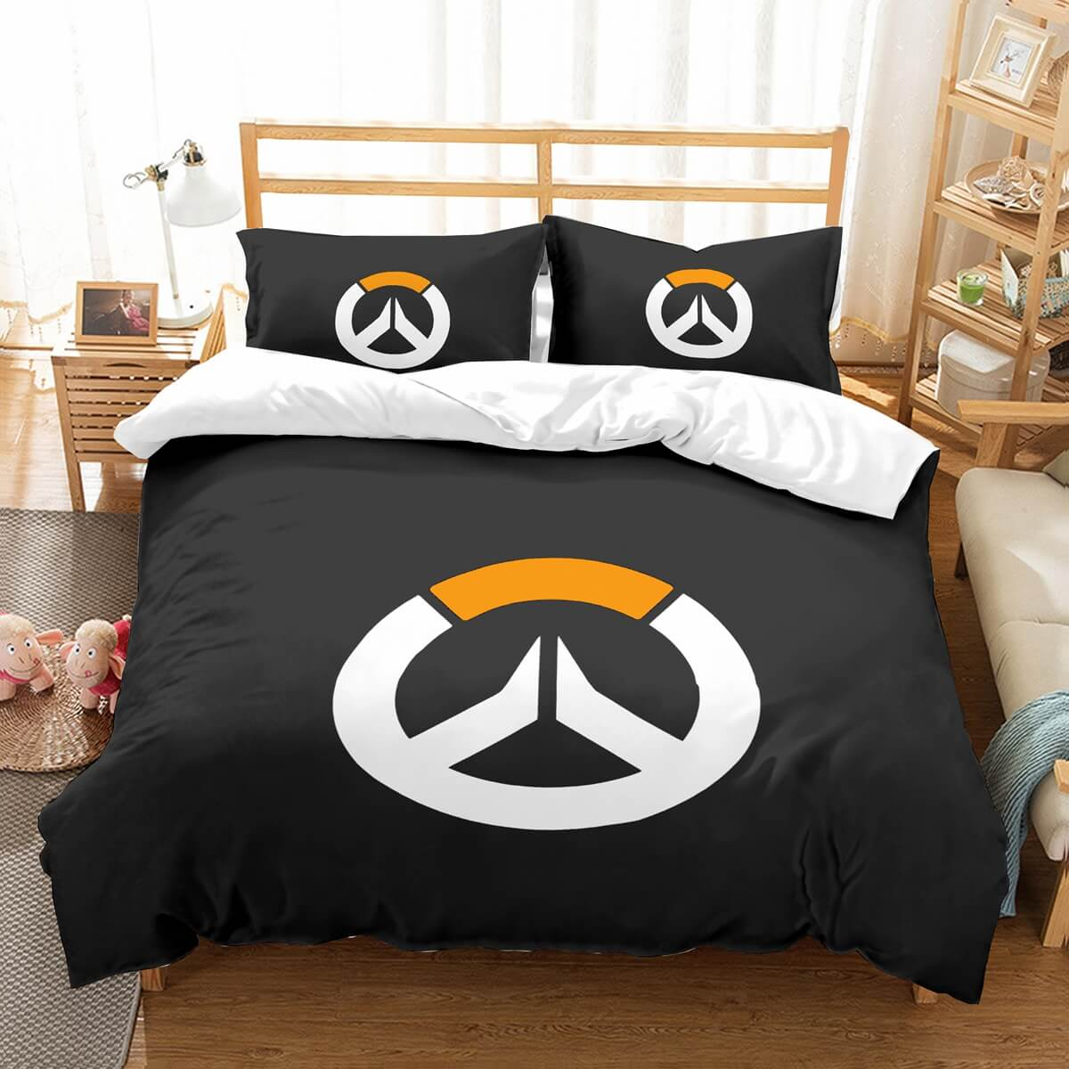 3D Customize Overwatch Bedding Set Duvet Cover Set Bedroom Set Bedlinen
