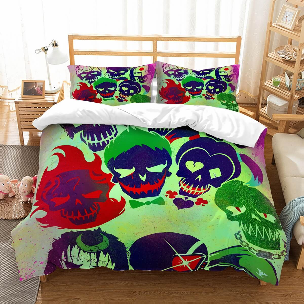 3D Customize Suicide Squad Bedding Set Duvet Cover Set Bedroom Set Bedlinen