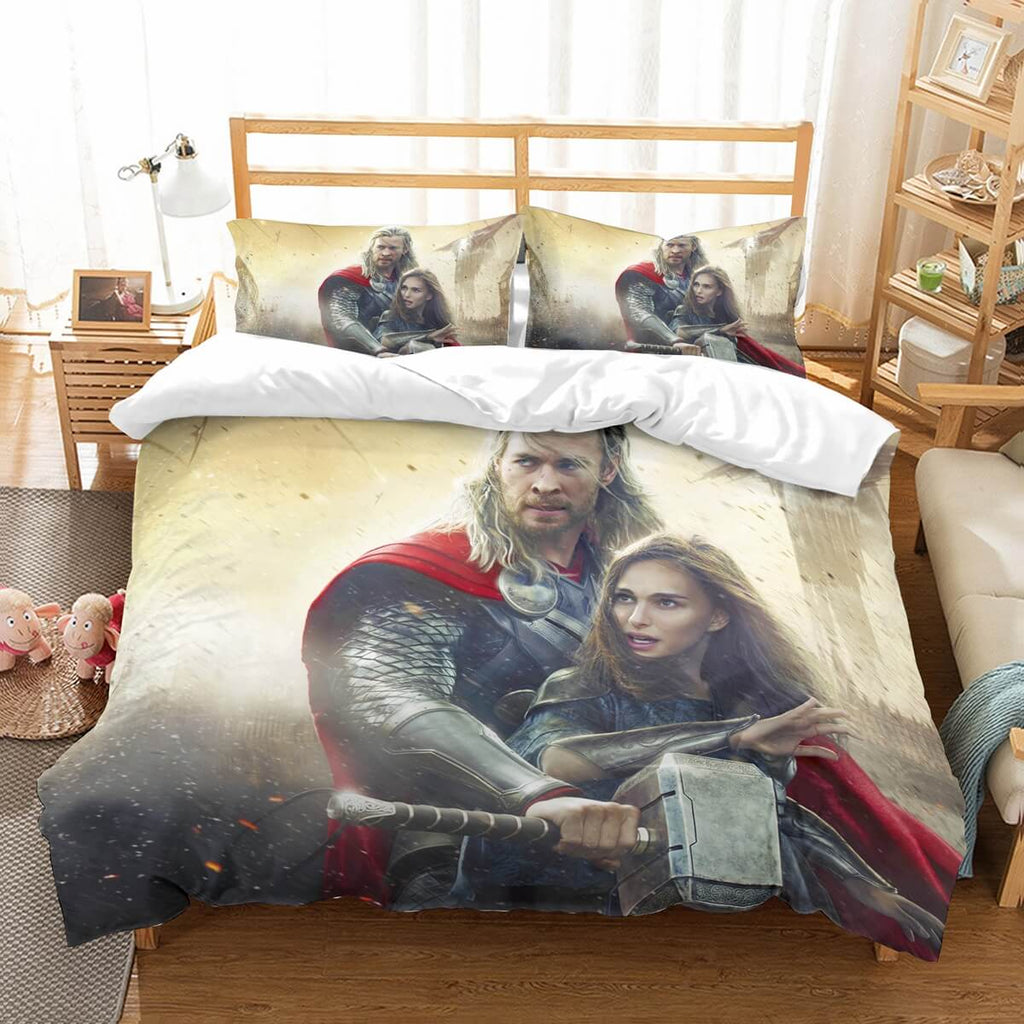 3D Customize Thor Bedding Set Duvet Cover Set Bedroom Set Bedlinen