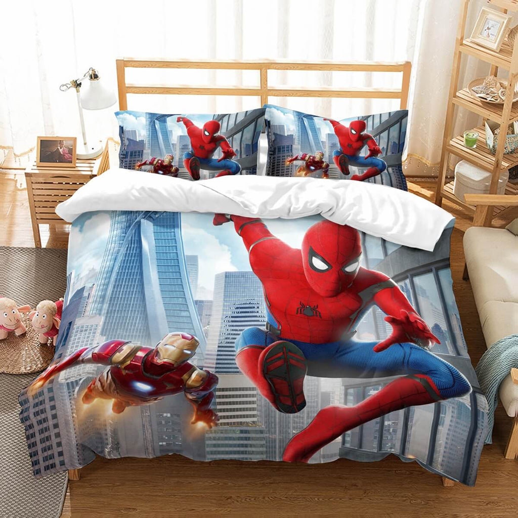 3D Customize Spider Man Homecoming Bedding Set Duvet Cover Set Bedroom Set Bedlinen
