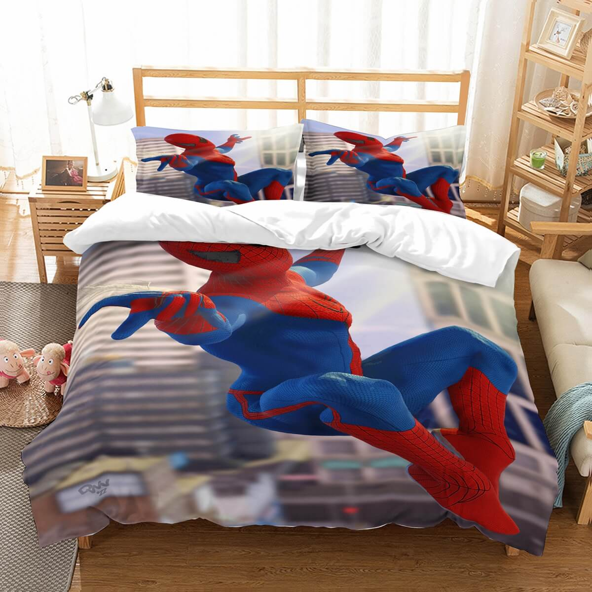 3D Customize Spider Man Bedding Set Duvet Cover Set Bedroom Set Bedlinen