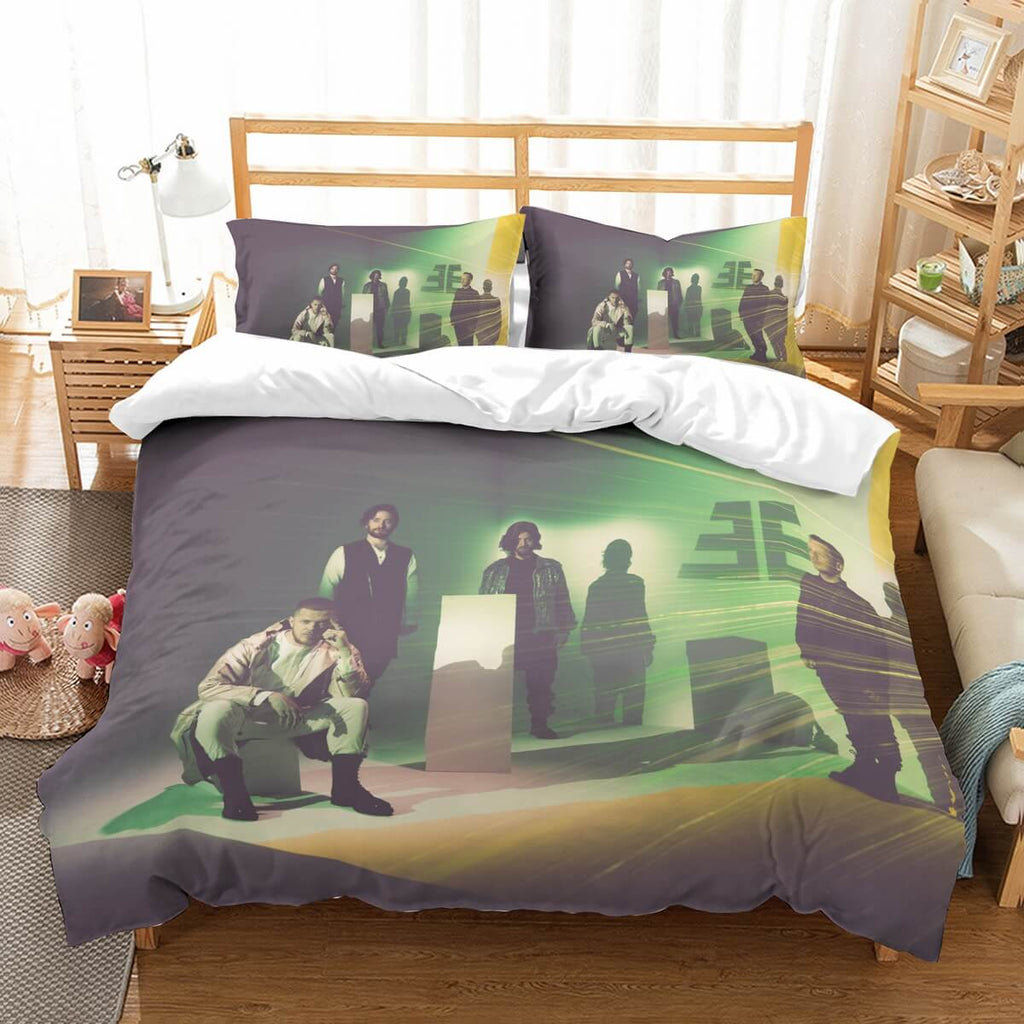 3D Customize Imagine Dragons Bedding Set Duvet Cover Set Bedroom Set Bedlinen