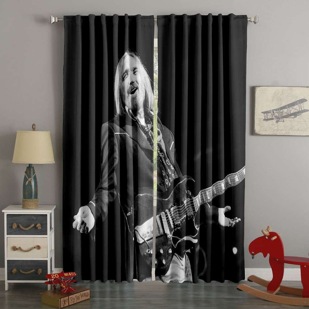 3D Printed Tom Petty Style Custom Living Room Curtains