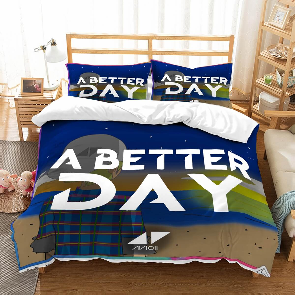 3D Customize Avicii A Better Day Bedding Set Duvet Cover Set Bedroom Set Bedlinen