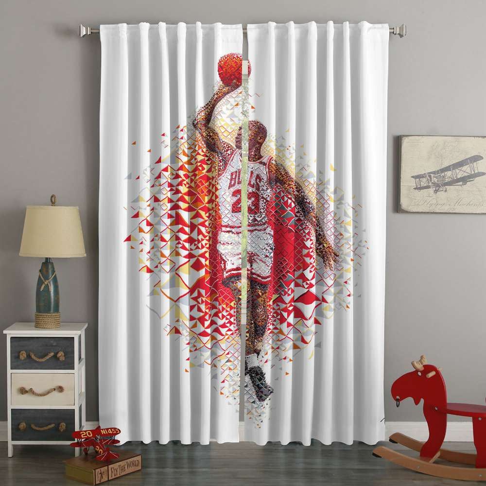 3D Printed Jordan Custom Living Room Curtains