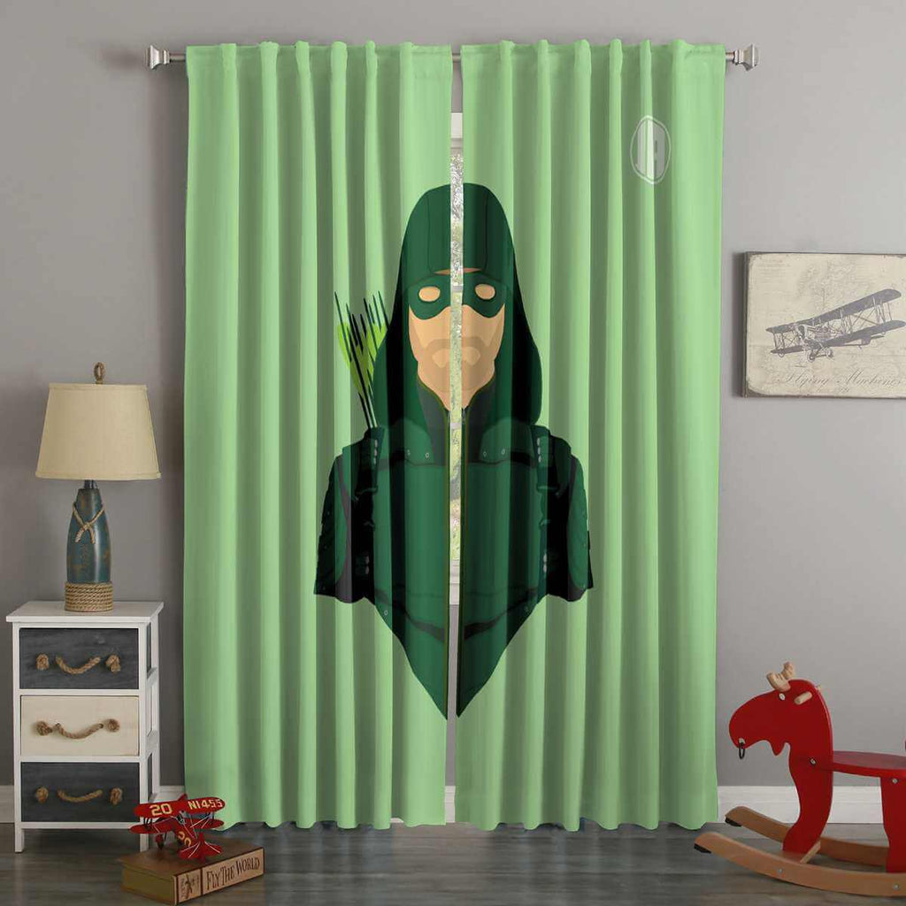 3D Printed Arrow Style Custom Living Room Curtains