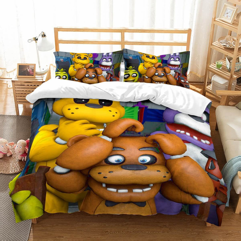 3D Customize Five Nights At Freddy's Bedding Set Duvet Cover Set Bedroom Set Bedlinen