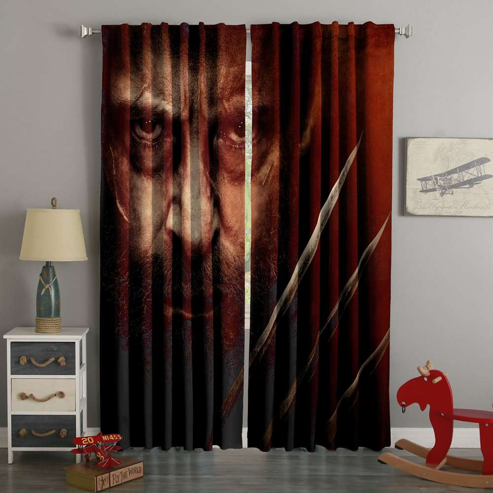 3D Printed Logan Style Custom Living Room Curtains