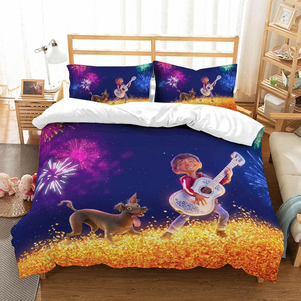 3D Customize Coco Bedding Set Duvet Cover Set Bedroom Set Bedlinen