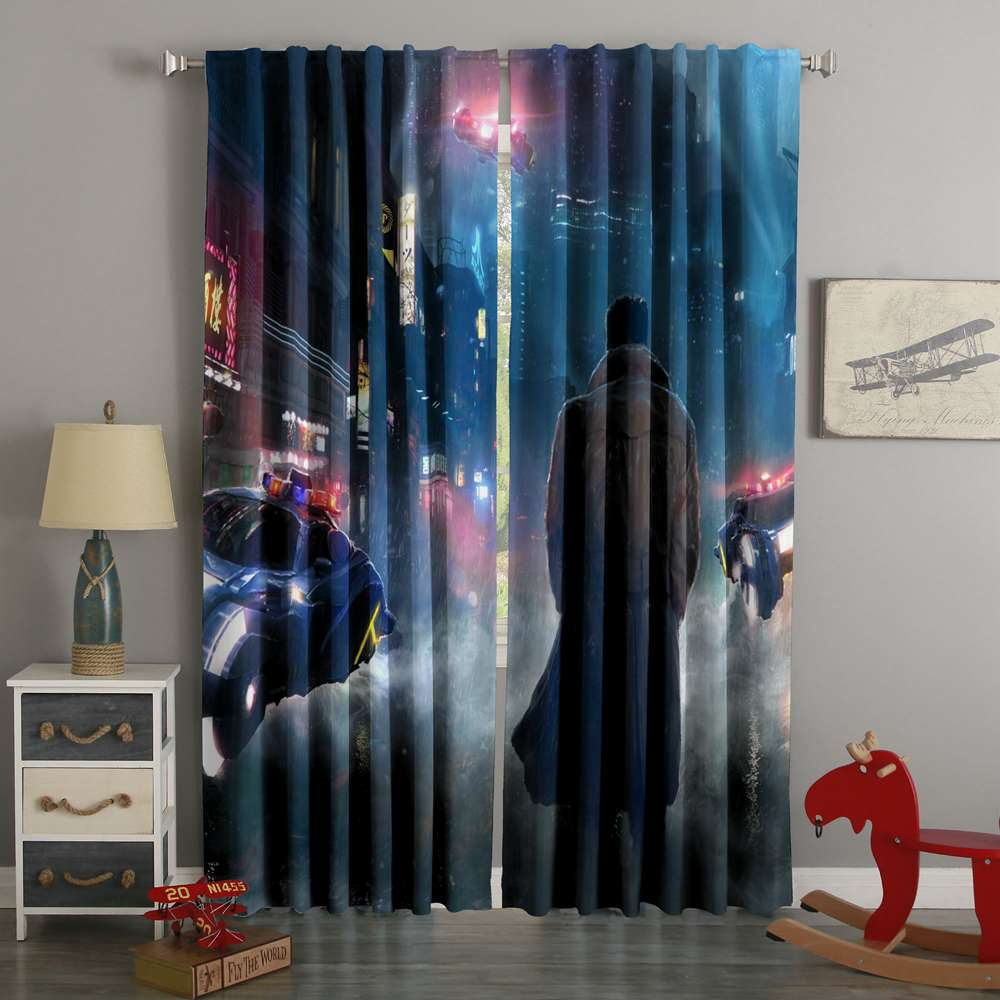 3D Printed Blade Runner 2049 Style Custom Living Room Curtains