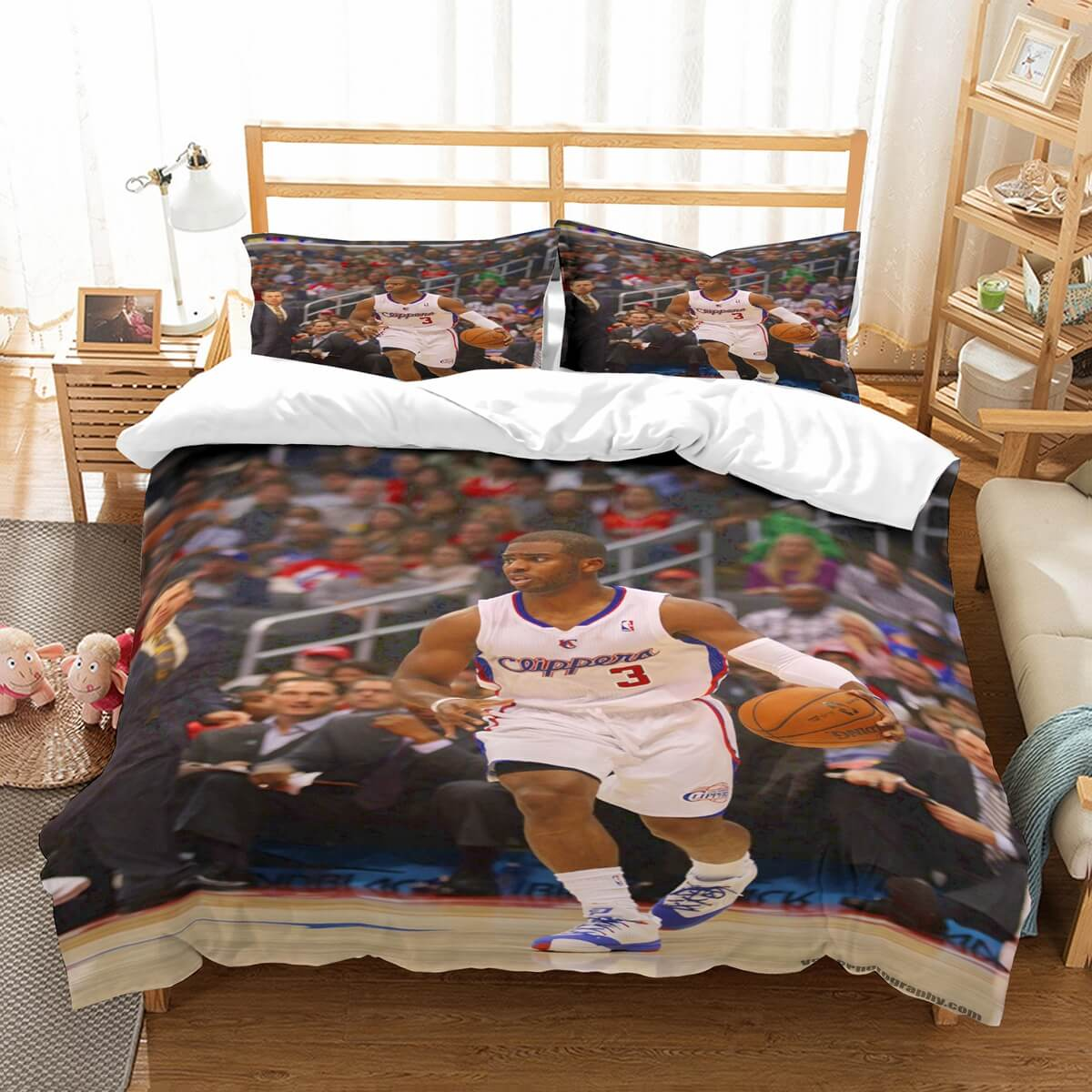 3D Customize Chris Paul Bedding Set Duvet Cover Set Bedroom Set Bedlinen