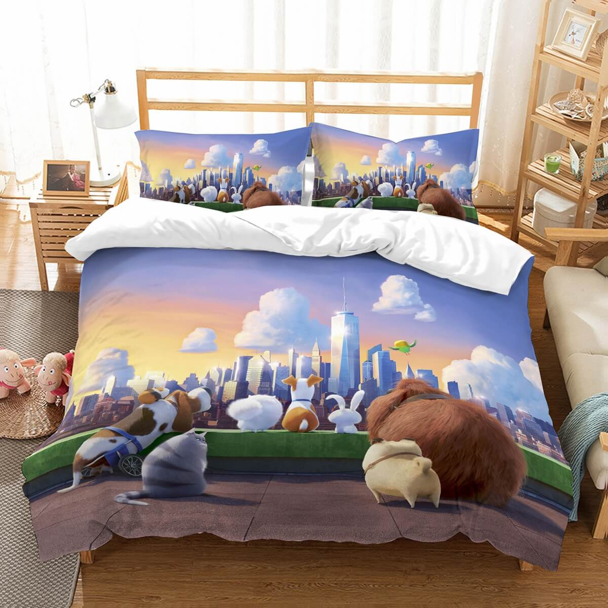 3D Customize The Secret Life Of Pets Bedding Set Duvet Cover Set Bedroom Set Bedlinen