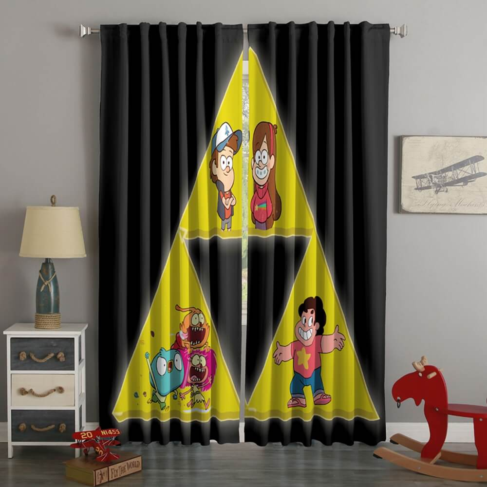 3D Printed Steven Universe Style Custom Living Room Curtains