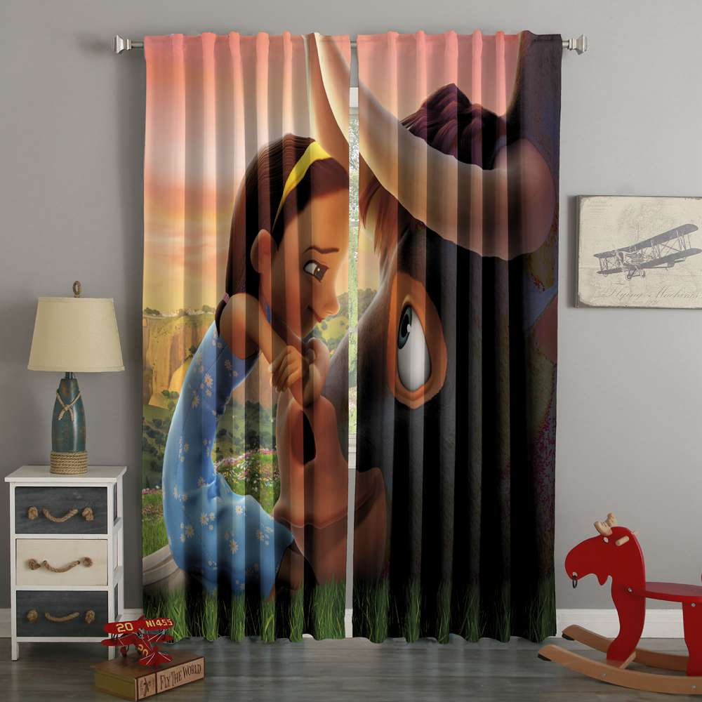 3D Printed Ferdinand Style Custom Living Room Curtains