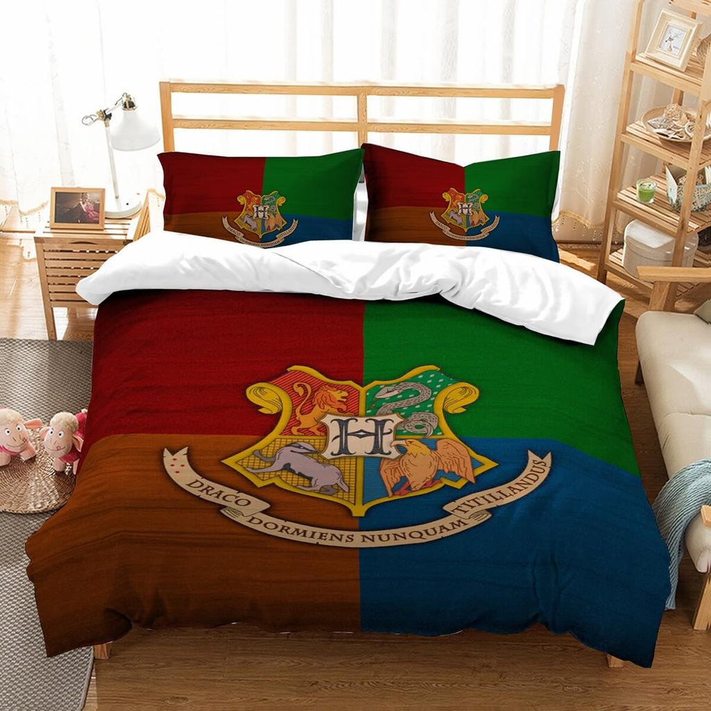 3D Customize Harry Potter Bedding Set Duvet Cover Set Bedroom Set Bedlinen